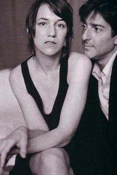 Charlotte Gainsbourg & Yvan Attal, Harper's Bazaar Magazine (Japan), August 2003