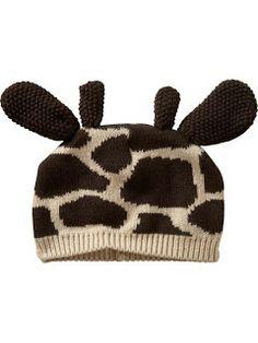 bonnet girafe baby gap bébé hiver 2010