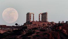 Super Moon, Greece