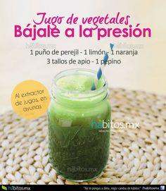 Hábitos Health Coaching   JUGO DE VEGETALES BÁJALE A LA PRESIÓN