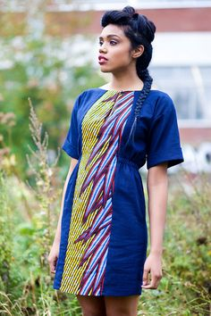 Etsy Les Enfants Sauvages Rice Field Maidens dress. I am in love with that center-panel print. #Africanfashion #AfricanWeddings #Africanprints #Ethnicprints #Africanwomen #africanTradition #AfricanArt #AfricanStyle #Kitenge #AfricanBeads #Gele #Kente #Ankara #Nigerianfashion #Ghanaianfashion #Kenyanfashion #Burundifashion #senegalesefashion #Swahilifashion ~DK