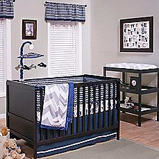 image of True Baby Quinn Crib Bedding Collection