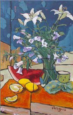 Por amor al arte: Angus Wilson Wilson Art, Expressive Art, Watercolor Effects, Van Gogh, Still Life, Landscape Paintings, Abstract Art, Pastel, Canvas