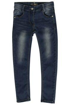 Jeans-Hose Skinny Fit dunkelblau