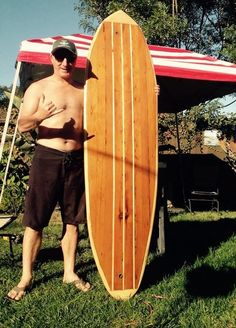 Crafting a Hollow Wood Surfboard from Old-Growth Redwood