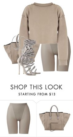 """Untitled #3772"" by xirix ❤ liked on Polyvore featuring Uniqlo, CÉLINE, My Mum Made It and Monika Chiang"