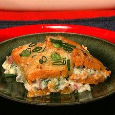 Michael Symon's Sweet Potato And Ham Casserole - the chew - ABC.com