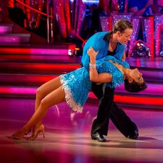 Frankie and Kevin, cha cha week 4 strictly come dancing 2014