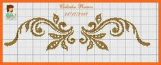 Cross Stitch Letters, Cross Stitch Borders, Cross Stitch Flowers, Cross Stitch Pictures, Knitting Charts, Bargello, Christmas Cross, Arabesque, Loom Beading