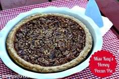Miss Kay's Honey Pecan Pie