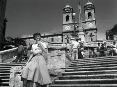 Do your best Audrey Hepburn on the Spanish Steps (gelato not included) #Rome