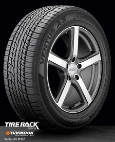 Hankook Ventus AS -- comes in 235/60R-18 for the Flex.