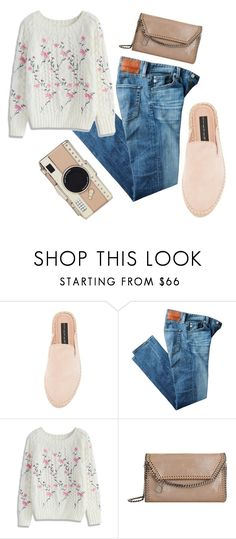 """""""Untitled #312"""" by trulyslytherin ❤ liked on Polyvore featuring Steven, AG Adriano Goldschmied, Chicwish, STELLA McCARTNEY and Kate Spade"""