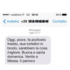 SMS Solo Messaggi Santi #buonadomenica