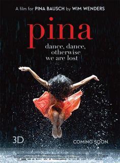 La Casa del Cinema domani, 14 settembre 2012, proietterà il film dedicato alla grande ballerina Pina Bauche.