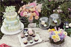 Party Ideas: Tea Party Bridal Shower - A Monique Affair