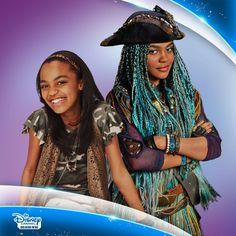"""""""#ThroughTheYears  Check out China-Anne! From her start on 'A.N.T Farm' in 2011, to rocking the ship as Uma in Descendants 2 this July!!"""" - Disney Channel Breaking News 