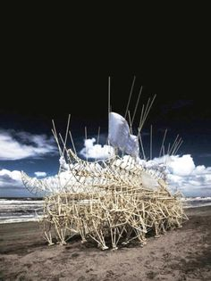 StrandBeests by Theo Jansen - Dedece Blog