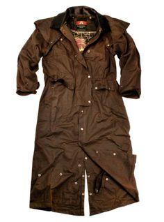 Kakadu Oilskin Coats Long Rider 3 In 1 Coat 3O02 Mens, $198.50
