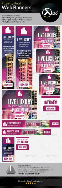 Property Hotel Web Banner Template PSD | Buy and Download: http://graphicriver.net/item/property-hotel-web-banner/6795729?WT.ac=category_thumb&WT.z_author=totopc&ref=ksioks