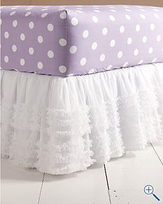This bedskirt would be so cute!