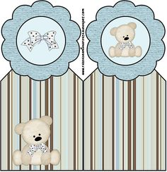 Imprimibles de ositos 10. - Ideas y material gratis para fiestas y celebraciones Oh My Fiesta! Baby Shower Parties, Baby Shower Themes, Baby Shower Decorations, Scrapbook Bebe, Baby Boy Scrapbook, Imprimibles Baby Shower, Teddy Bear Party, Oh My Fiesta, Bear Theme