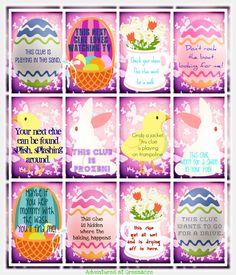 Adventures at Greenacre: Free Easter printables