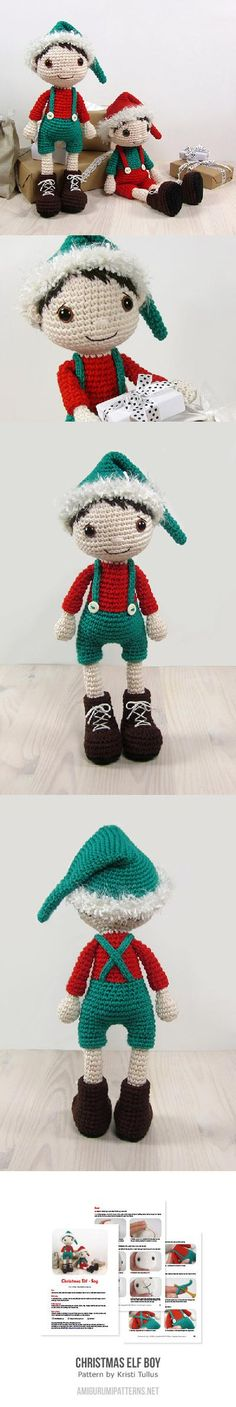 Christmas elf boy