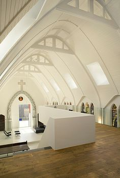 Zecc Architecten Utrecht: Converted chapel into a residence Utrecht, the Netherlands