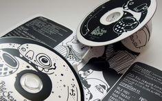 Interesting CD package with really nice illustrations by ACDSleeve. Packaging: Tom Leggett. Artwork: Mister Millerchip