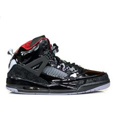 outlet store c2309 42e44 Air Jordan Spizike Black Black Red Patent Leather  55.00
