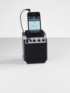 amp style retro speaker from RedEnvelope.com