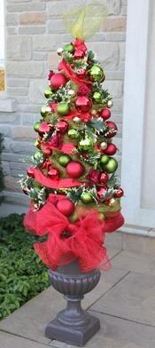Tomato Cage Christmas Tree Tutorial