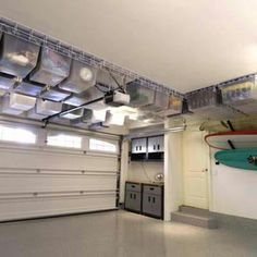 Garage over-head storage. how the hell?! where and what do i have to do for that??