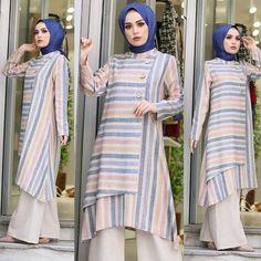 Cute Clothes For Women Over 40 Muslim Fashion, Modest Fashion, Hijab Fashion, Clothes For Women Over 40, Lace Up T Shirt, Modele Hijab, Hijab Dress, Muslim Women, Muslim Girls