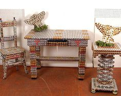 BottleCapTable & Chairs
