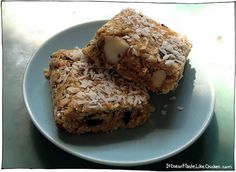 Quick and Easy Healthy Breakfast - Good Morning Energy Bars