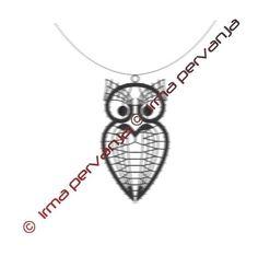 Needle Lace, Bobbin Lace, Lace Jewelry, Fauna, Owl, Silver, Inspiration, Lace, Ear Rings