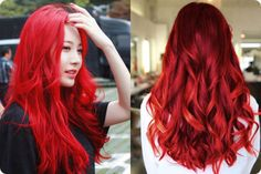 Best!! Of Berina Hair Color Cream Hair Dye Bright Red Color A23 Permanent+