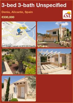3-bed 3-bath Unspecified in Denia, Alicante, Spain ►€330,000 #PropertyForSaleInSpain