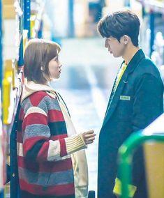 Anywhere with you feels right. Swag Couples, Cute Couples, Drama Korea, Korean Drama, Weightlifting Kim Bok Joo, Weighlifting Fairy Kim Bok Joo, Nam Joo Hyuk Lee Sung Kyung, Kdrama, Kim Book