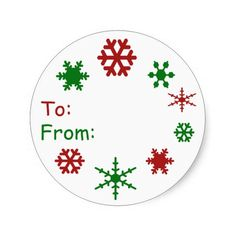 Shop Snowflake Holiday Gift Tag created by whimsydesigns. Holiday Gift Tags, Holiday Decor, Christmas Stickers, Round Stickers, Different Shapes, Custom Stickers, Snowflakes, Christmas Holidays, Activities For Kids