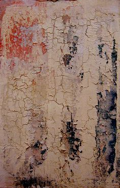 DIY: Makeing New Look Old Again. paint, joint compound, weathered crackle and craft paper