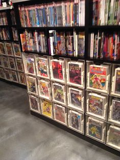 Comic book storage idea