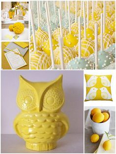 Lemon Yellow #inspirationboard