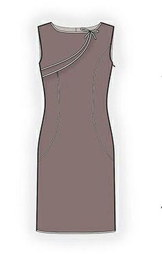 4311 PDF Dress Sewing Pattern  Women Clothes by TipTopFit on Etsy, $2.99