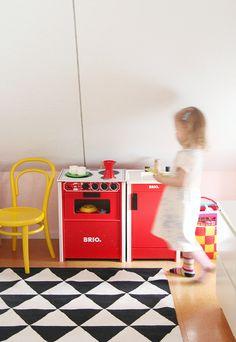 Little kitchen in the kids room - Pinjacolada blog