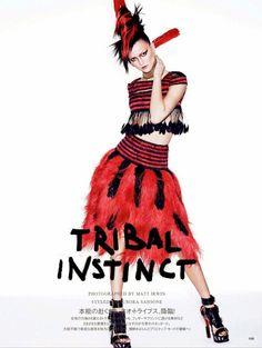 Vogue Japão Maio 2014 | Kasia Struss por Matt Irwin [Editorial]