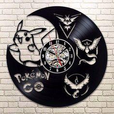 Pokemon GO Plus Free International Shipping Vinyl Clock
