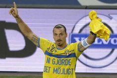 Zlatan klackade in rekordmålet | Landslag | Fotboll | Sportbladet | Aftonbladet
